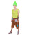 Adult Men's Branch Trolls Costume | Yellow & Orange Cosplay Costume