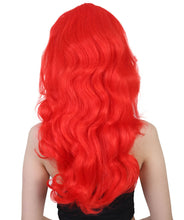 Lethal Beauty Ivy Wig | Tv/Movie Red Layered Long Wig | Premium Breathable Capless Cap