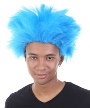 Seuss Thing Wig | Blue Cosplay Wig | Premium Breathable Capless Cap