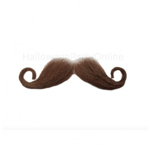 Moustaches 100% Human Hair M3 - HalloweenPartyOnline