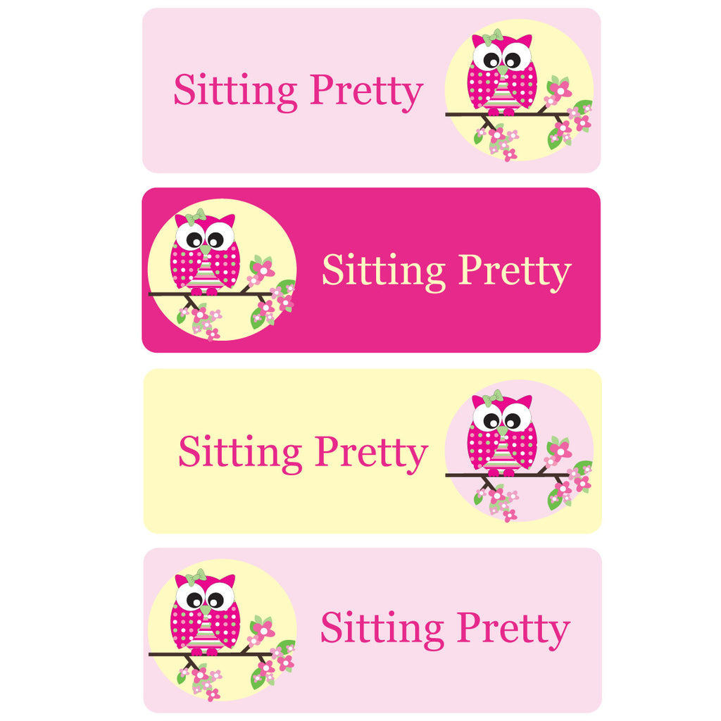 Sitting Pretty Essentials Labels - 92 Labels