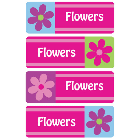 Flowers Essentials Labels - 92 Labels