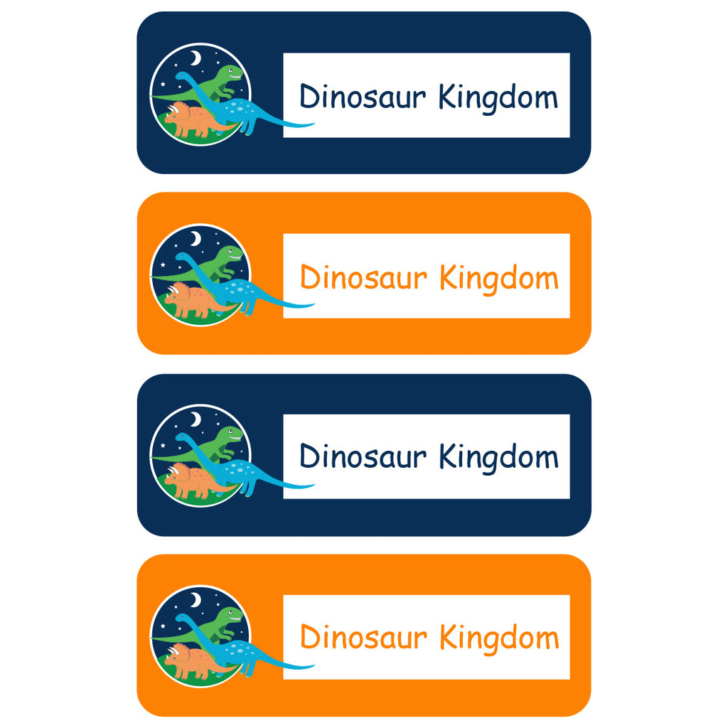 Dinosaur Kingdom Essentials Labels - 92 Labels