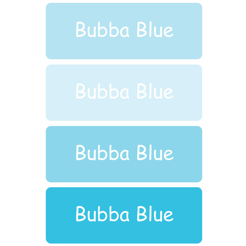 Bubba Blue Essentials Labels - 92 Labels