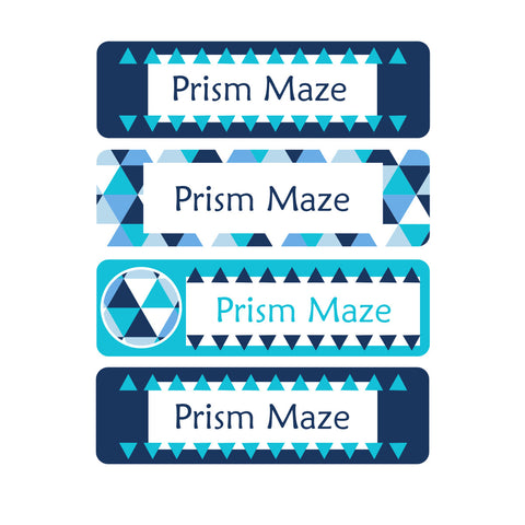 Prism Maze Clothing Labels - 48 Labels - Lil Sunshine Collections