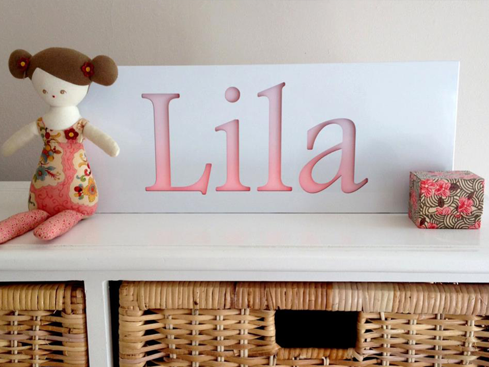 Personalised Night Light - White - Lil Sunshine Collections