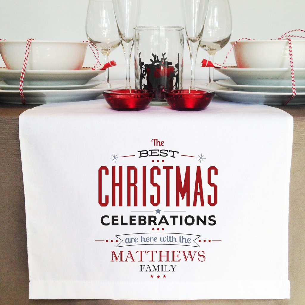 Celebrations Christmas Table Runner - Lil Sunshine Collections