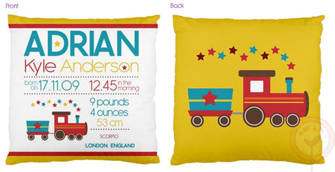 Adrian Personalised Birth Chart Cushion - Lil Sunshine Collections
