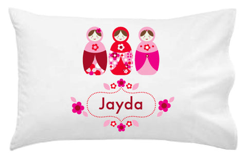 Babushkas Personalised Pillowcase - Lil Sunshine Collections