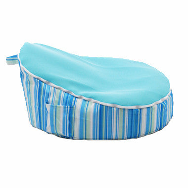 Stripey Blue Bean Bag - Lil Sunshine Collections