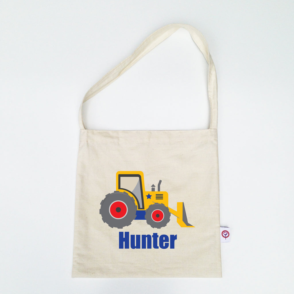 Digger Personalised Library Bag - Lil Sunshine Collections