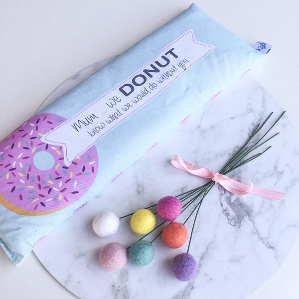 Donut Personalised Heat Pack - Lil Sunshine Collections