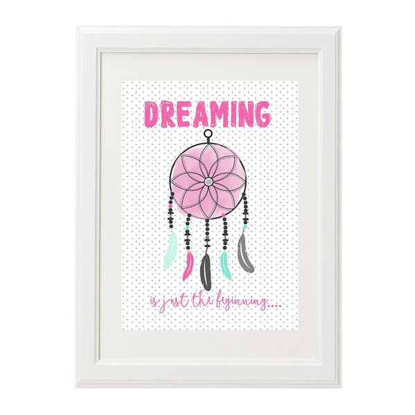 Girl Dream Catcher Print - Lil Sunshine Collections