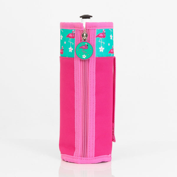 Flamingo Personalised Drink Bottle Holder - Lil Sunshine Collections