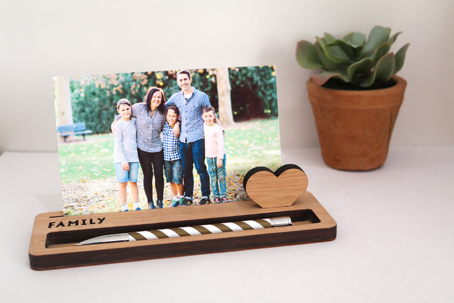 Medium Photo Stand - Family - Lil Sunshine Collections