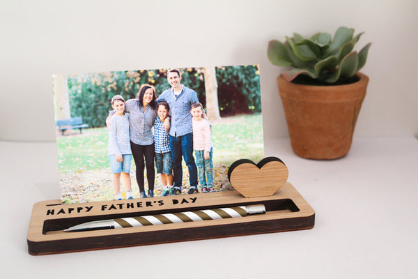 Medium Photo Stand - Personalised - Lil Sunshine Collections