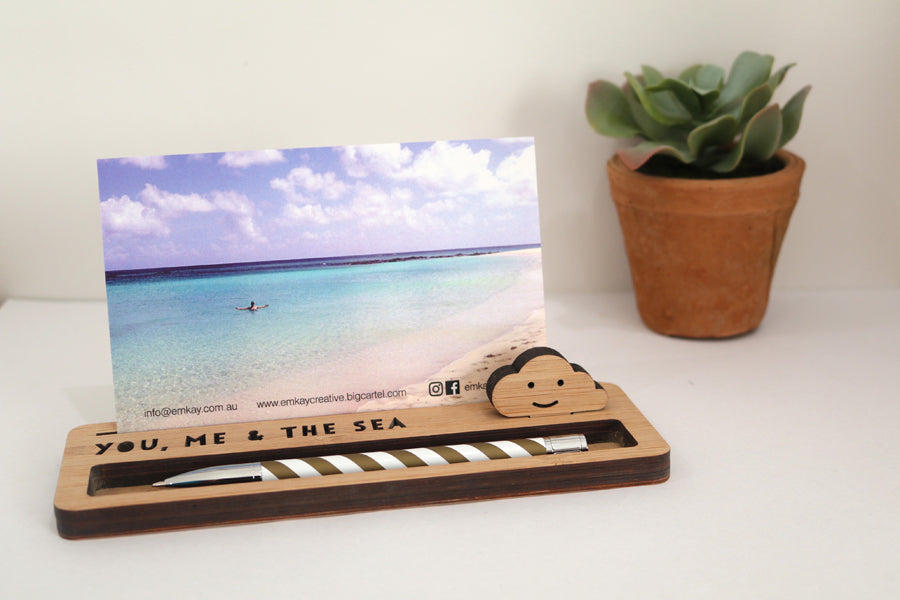 Medium Photo Stand - You, Me & the Sea - Lil Sunshine Collections