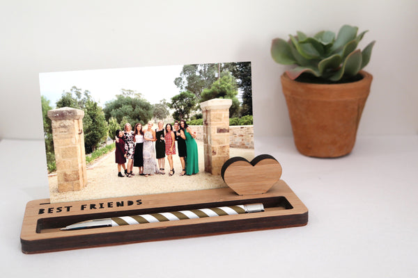 Medium Photo Stand - Best Friends - Lil Sunshine Collections