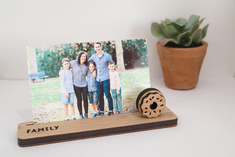 Small Photo Stand - Family - Lil Sunshine Collections