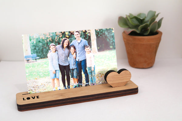 Small Photo Stand - Love - Lil Sunshine Collections