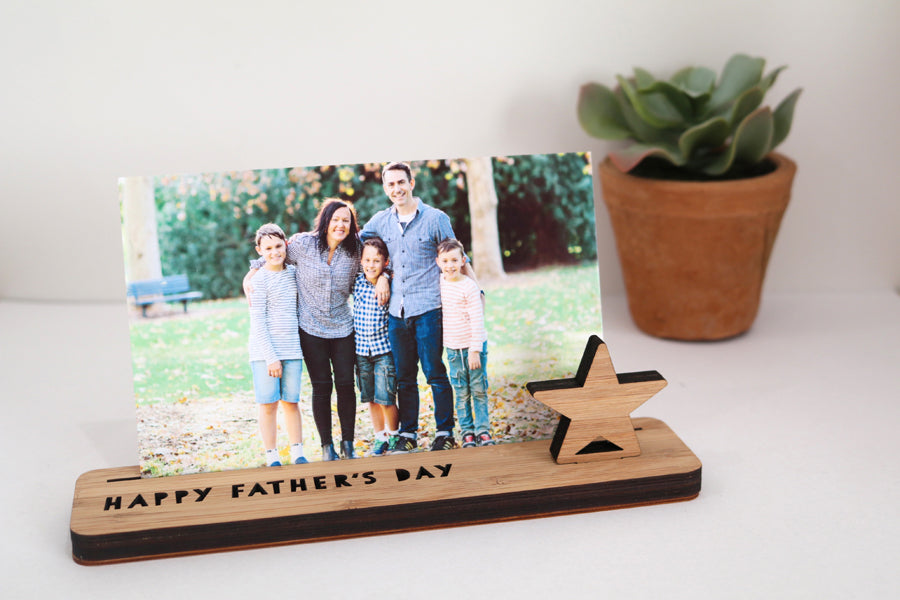 Small Photo Stand - Happy Father's Day - Lil Sunshine Collections