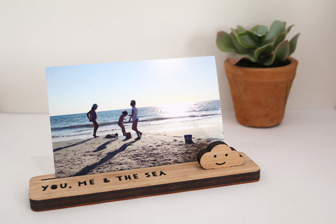 Small Photo Stand - You, Me & the Sea - Lil Sunshine Collections