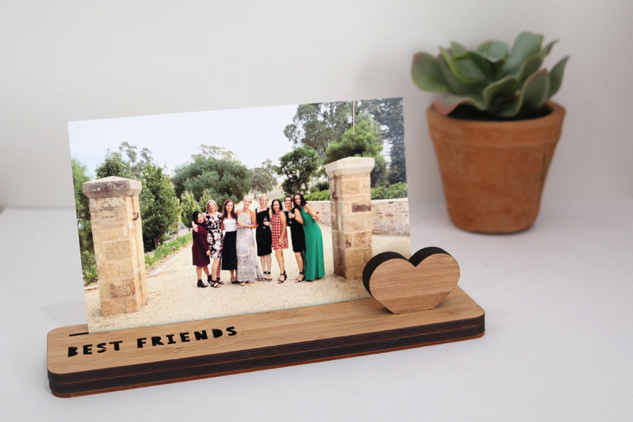 Small Photo Stand - Best Friends - Lil Sunshine Collections