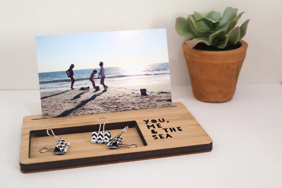 Large Photo Stand - You, Me & the Sea - Lil Sunshine Collections