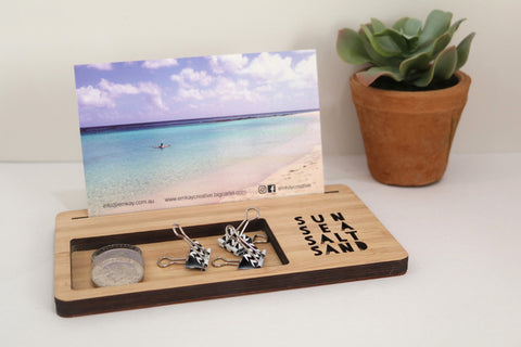 Large Photo Stand - Sun, Sea, Salt, Sand - Lil Sunshine Collections