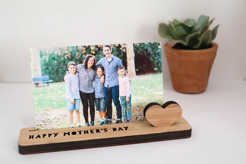 Small Photo Stand - Happy Mother's Day - Lil Sunshine Collections