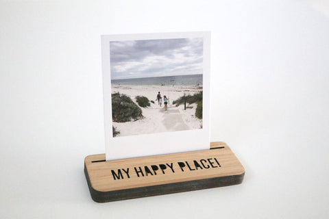 Mini Photo Stand - My Happy Place - Lil Sunshine Collections