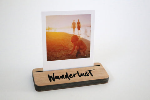 Mini Photo Stand - Wanderlust - Lil Sunshine Collections