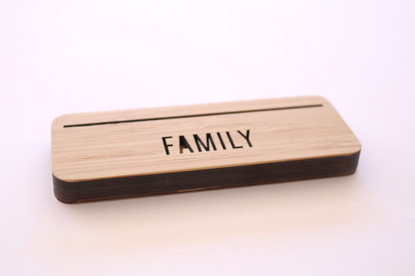 Mini Photo Stand - Family - Lil Sunshine Collections
