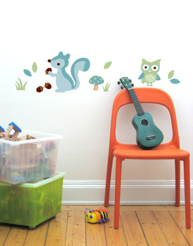 Forest Boys Wall Decal