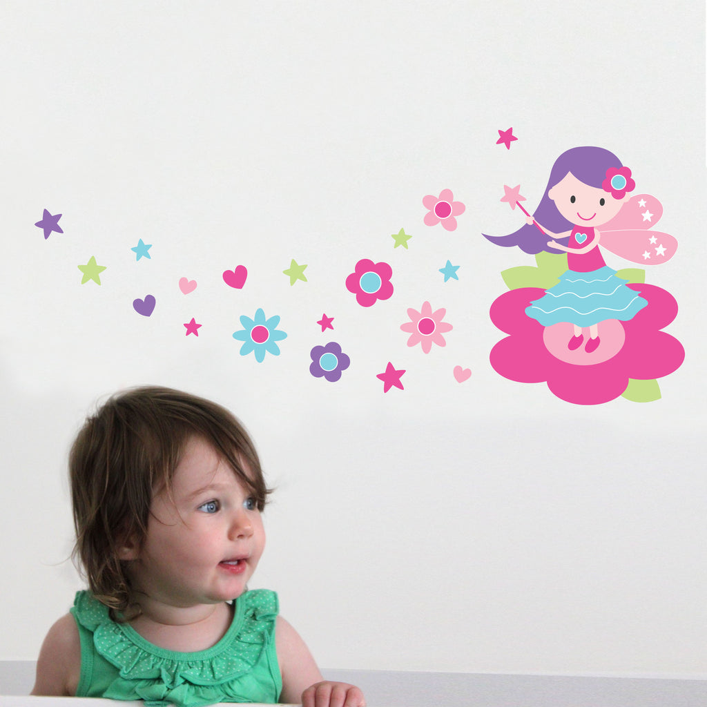 Fairy Wall Decal - Lil Sunshine Collections