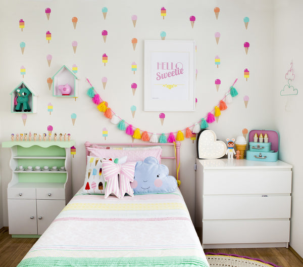 Icecream Dream Wall Decal - Lil Sunshine Collections