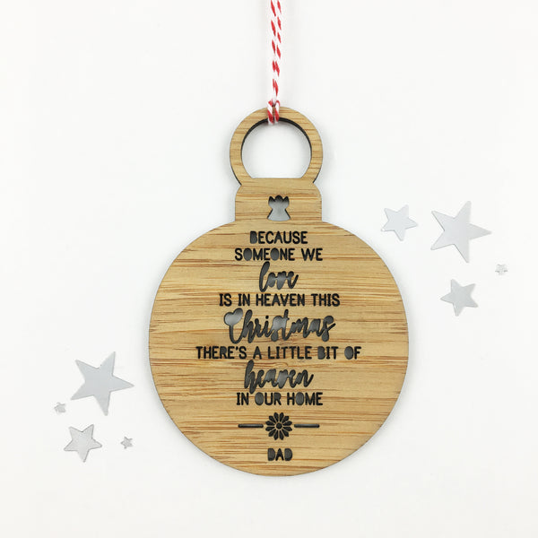 Heaven in our Home Christmas Ornament - Lil Sunshine Collections