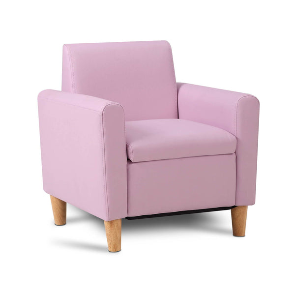 Kids Single Couch - Pink