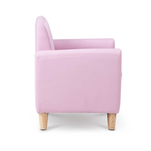 Kids Single Couch - Pink - Lil Sunshine Collections