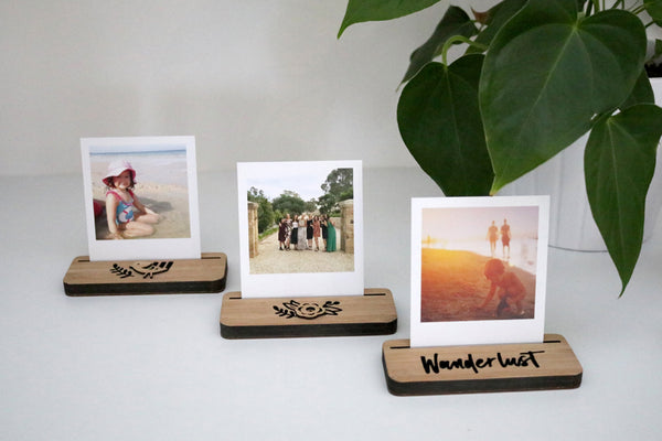 Mini Photo Stand - Flower - Lil Sunshine Collections