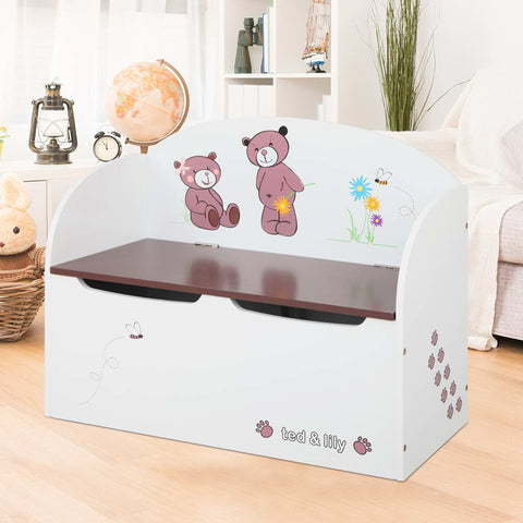 Kids Toy Box & Bench - Lil Sunshine Collections