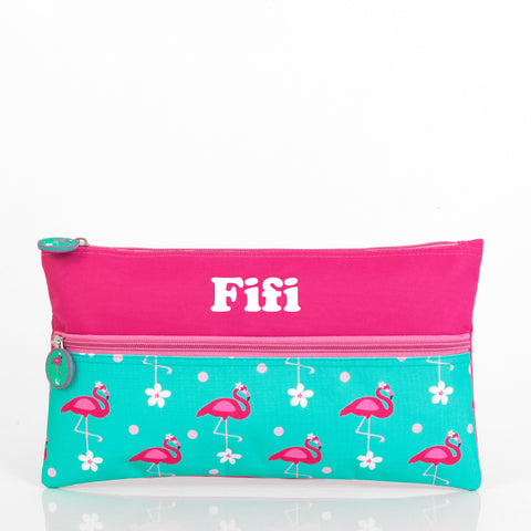 Flamingo Personalised Pencil Case - Lil Sunshine Collections