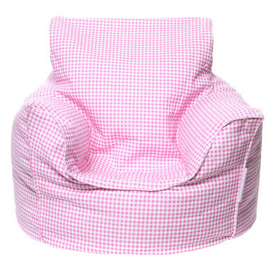 Toddler Lounge Pink Bean Bag - Lil Sunshine Collections