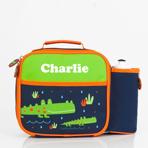 Crocodile Personalised Pre-School Lunch Bag - Lil Sunshine Collections