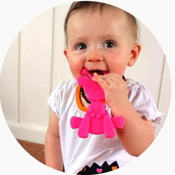 Little Bam Bam Teething Toy - Lil Sunshine Collections