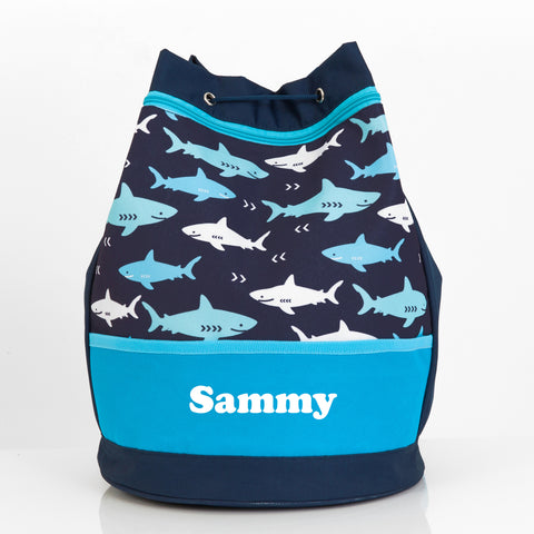 Shark Personalised Swim Bag