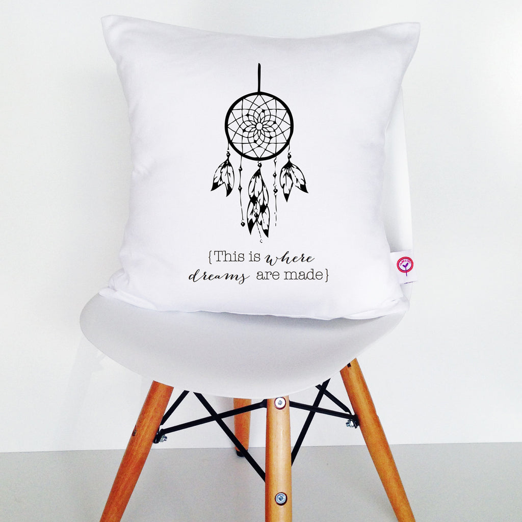 This is Where Dreams are Made Cushion Cover - Lil Sunshine Collections