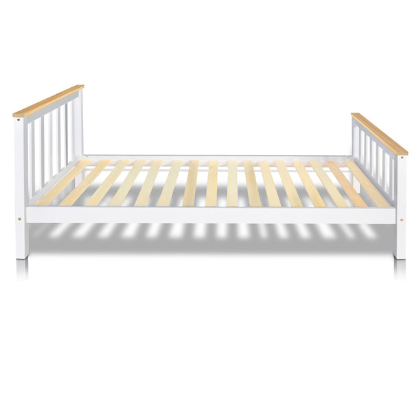 Pine Wood King Single Size Bed Frame - Lil Sunshine Collections