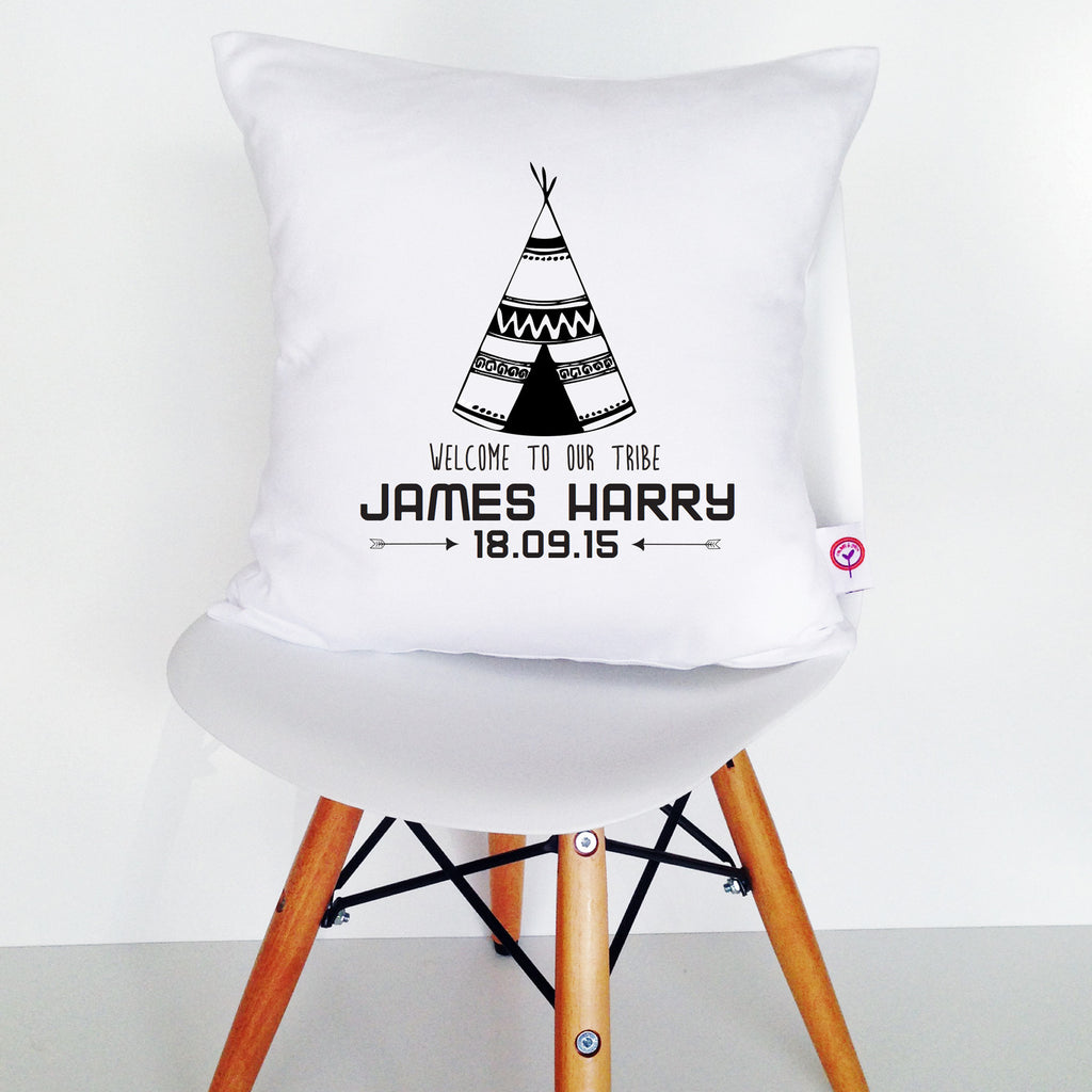 Teepee Personalised Cushion Cover - Lil Sunshine Collections