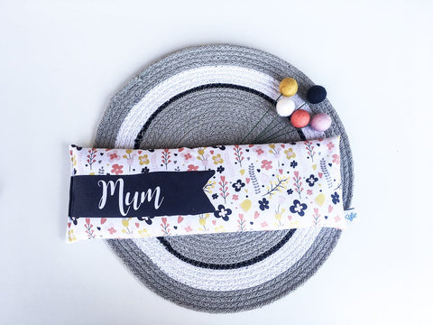 Winter White Blooms Personalised Heat Pack - Lil Sunshine Collections
